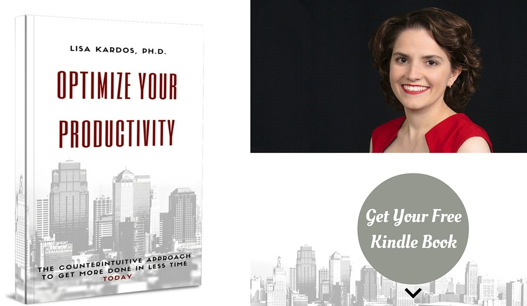 Free Kindle Book and New Release: Optimize Your Productivity